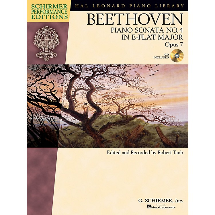 G. SchirmerBeethoven: Sonata No 4 in E-flat Maj Op 7 Schirmer Performance Editions BK/CD by Beethoven Edited by Taub