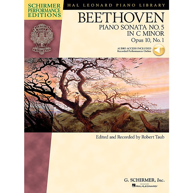 G. SchirmerBeethoven: Sonata No 5 in C Min Op 10 No 1 Schirmer Performance Edition BK/CD by Beethoven Edited by Taub