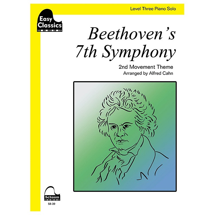 SCHAUMBeethoven's 7th Symphony Educational Piano Series Softcover