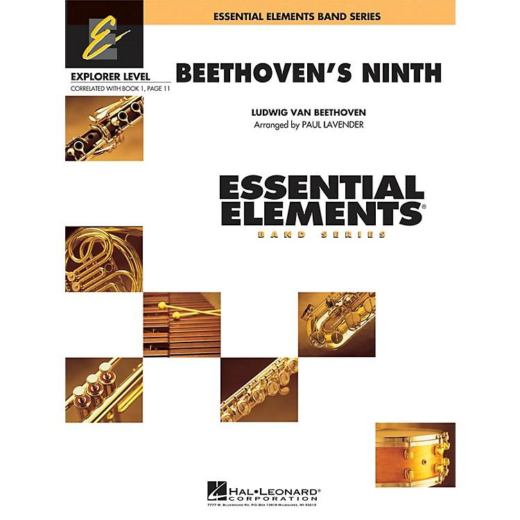 Hal LeonardBeethoven's Ninth Concert Band Level 0.5 Arranged by Paul Lavender