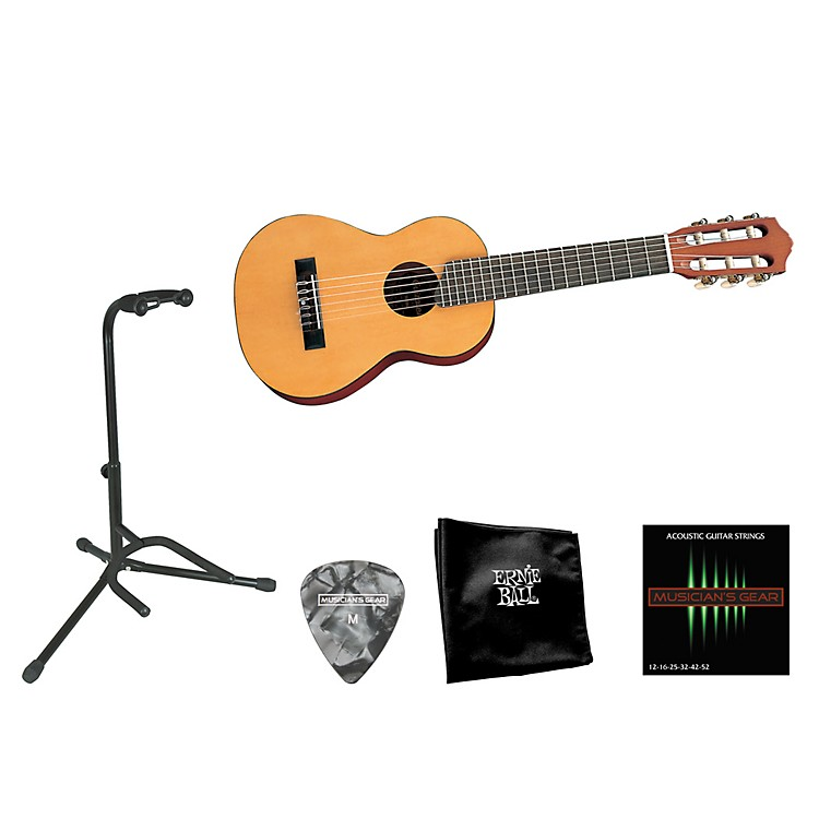 Yamaha Beginner 1/2 Scale Nylon Guitarlele Bundle