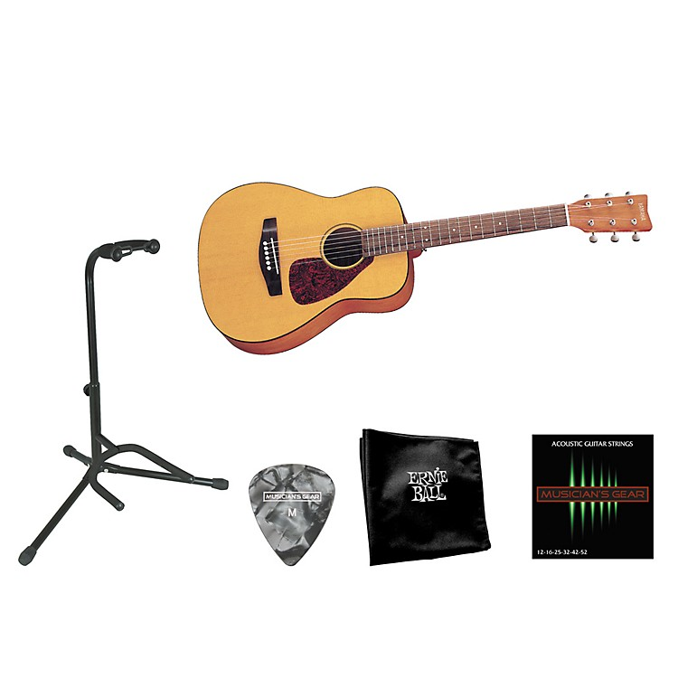 YamahaBeginner 3/4 Size Folk Guitar Bundle