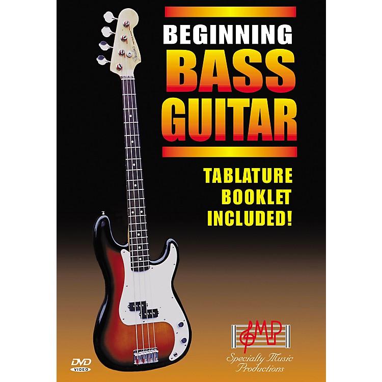 Specialty Music ProductionsBeginning Bass Guitar DVD