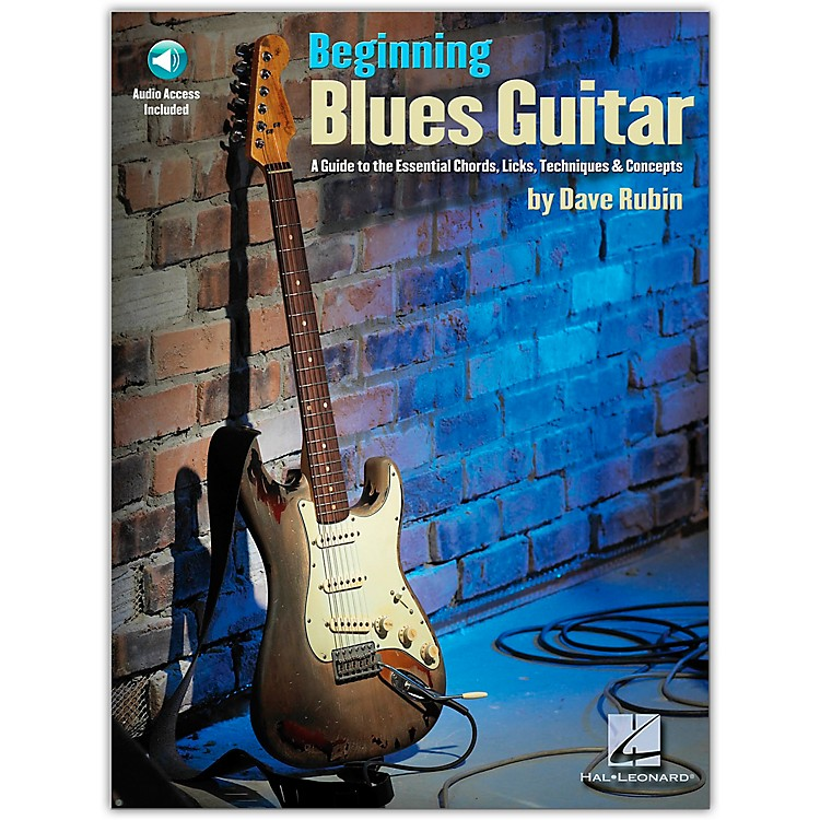 Hal Leonard Beginning Blues Guitar (Book/Online Audio)