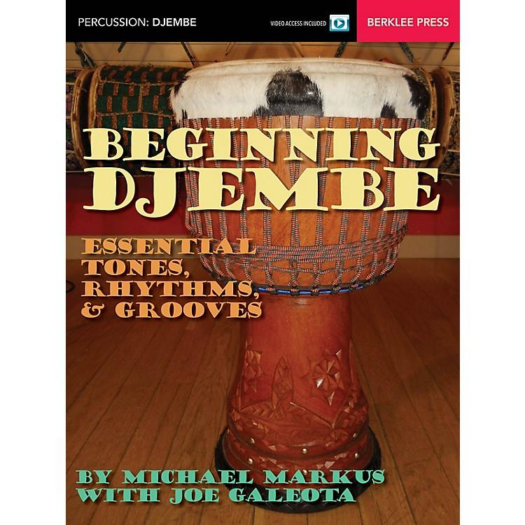 Berklee PressBeginning Djembe Berklee Guide Series Softcover Video Online Written by Michael Markus