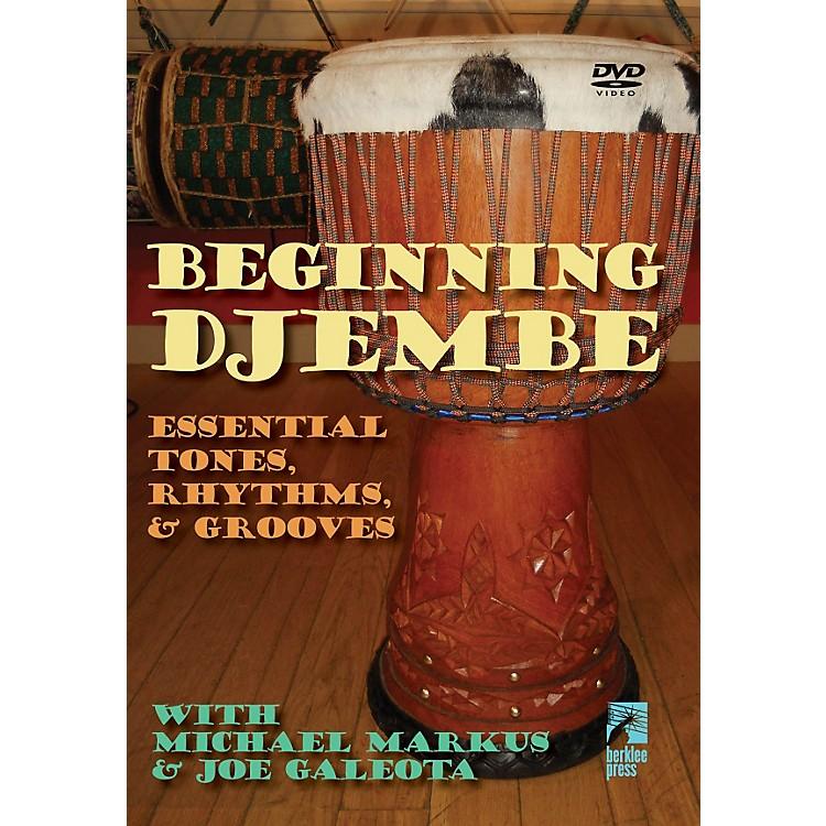 Hal LeonardBeginning Djembe: Essential Tones Rhythms & Grooves DVD