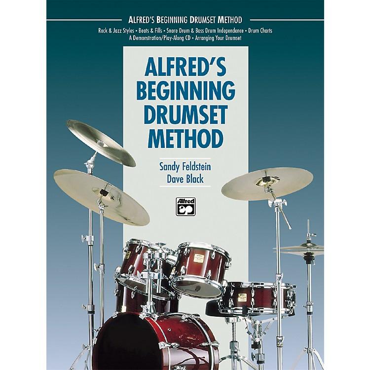 AlfredBeginning Drumset Method Book with CD