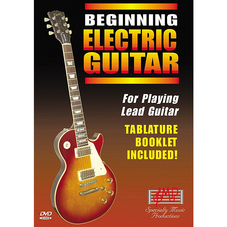 Specialty Music ProductionsBeginning Electric Guitar DVD