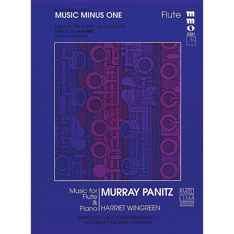 Music Minus OneBeginning Flute Solos - Volume 1 Music Minus One Series