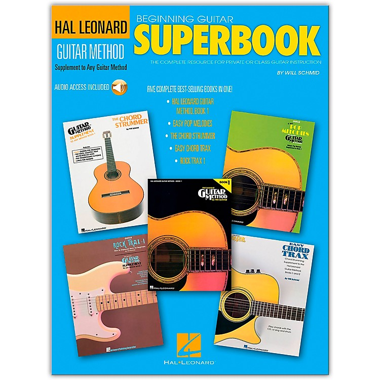 Hal LeonardBeginning Guitar Superbook (Book and Online Audio Package)