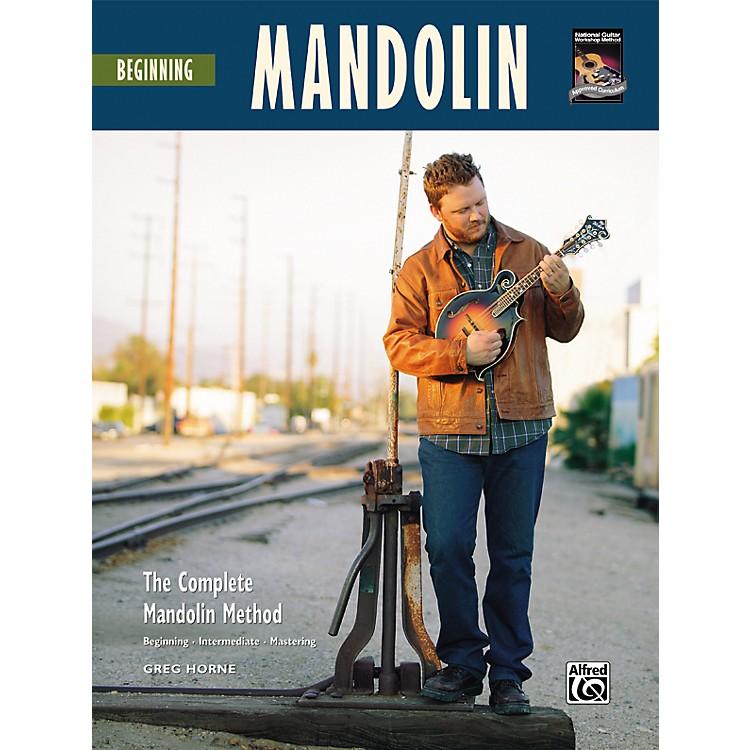 AlfredBeginning Mandolin (Book/CD)