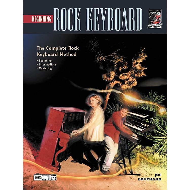 AlfredBeginning Rock Keyboard (Book/CD)