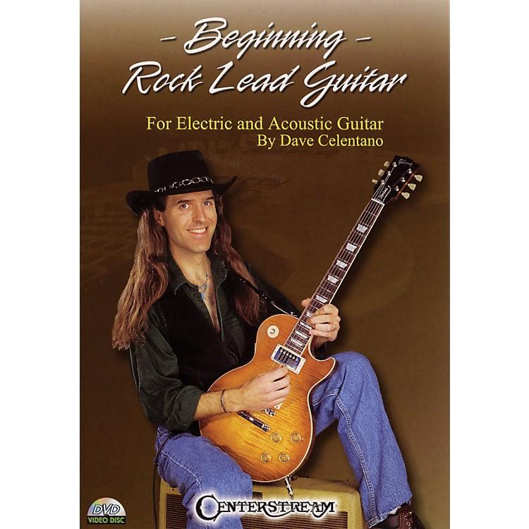 Centerstream PublishingBeginning Rock Lead Guitar Instructional/Guitar/DVD Series DVD Written by Dave Celentano