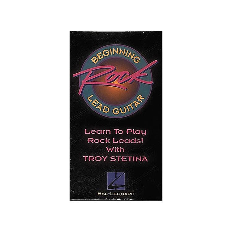Hal LeonardBeginning Rock Lead Guitar Video
