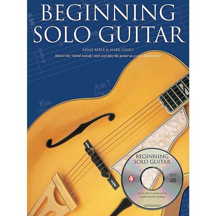 Music SalesBeginning Solo Guitar Music Sales America Series Softcover with CD Written by Arnie Berle