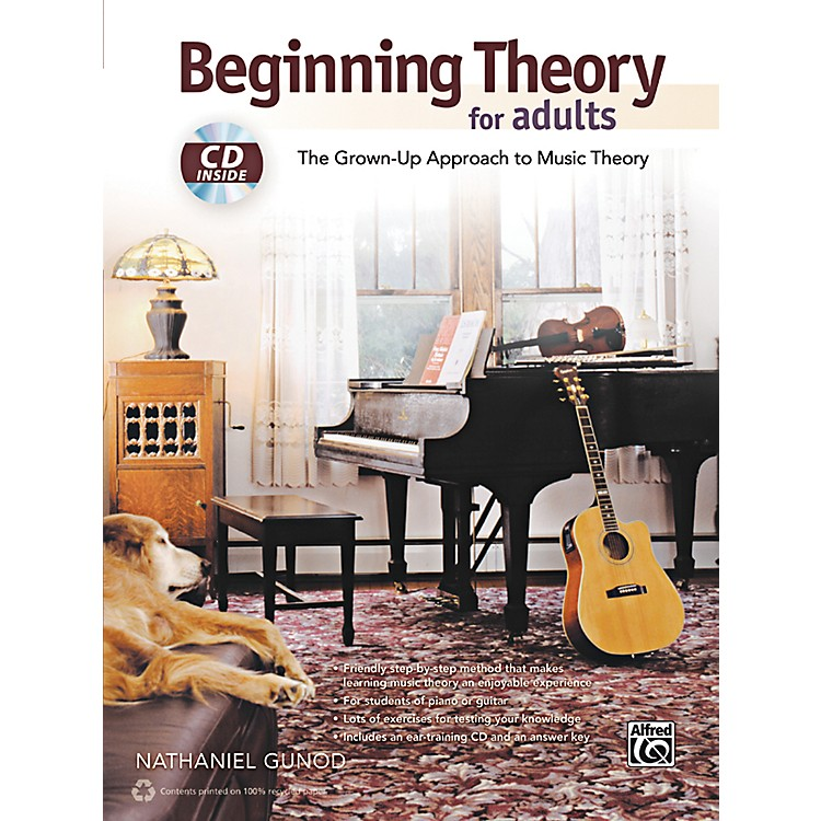 AlfredBeginning Theory for Adults Book & CD