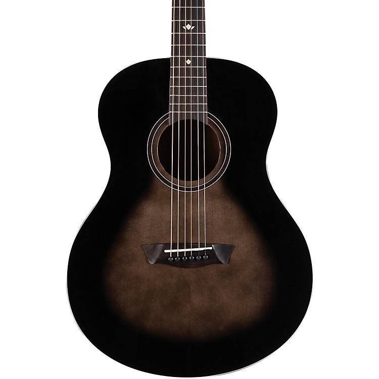 WashburnBella Tono Novo S9 Studio Acoustic GuitarTransparent Charcoal Burst