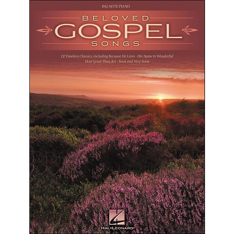 Hal LeonardBeloved Gospel Songs for Big Note Piano
