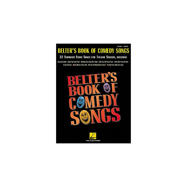 Hal Leonard Belter's Book of Comedy Songs