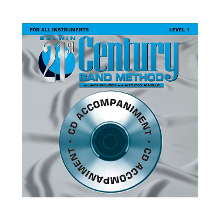 AlfredBelwin 21st Century Band Method Level 1 CD