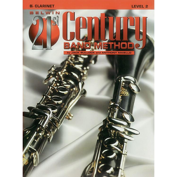 AlfredBelwin 21st Century Band Method Level 2 B-Flat Clarinet Book