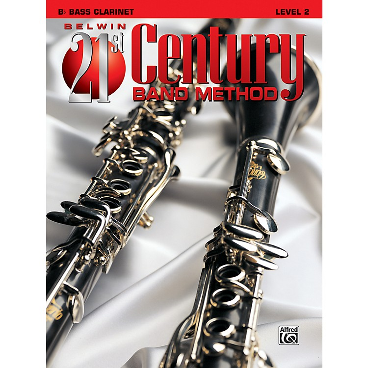 AlfredBelwin 21st Century Band Method Level 2 Bass Clarinet Book