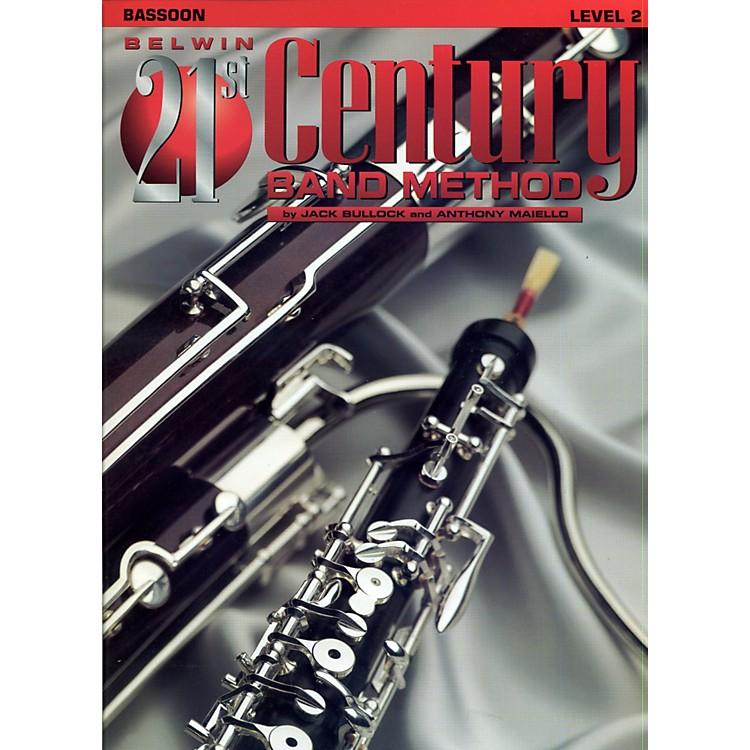 AlfredBelwin 21st Century Band Method Level 2 Bassoon Book