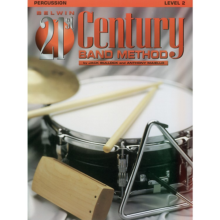 AlfredBelwin 21st Century Band Method Level 2 Percussion Book