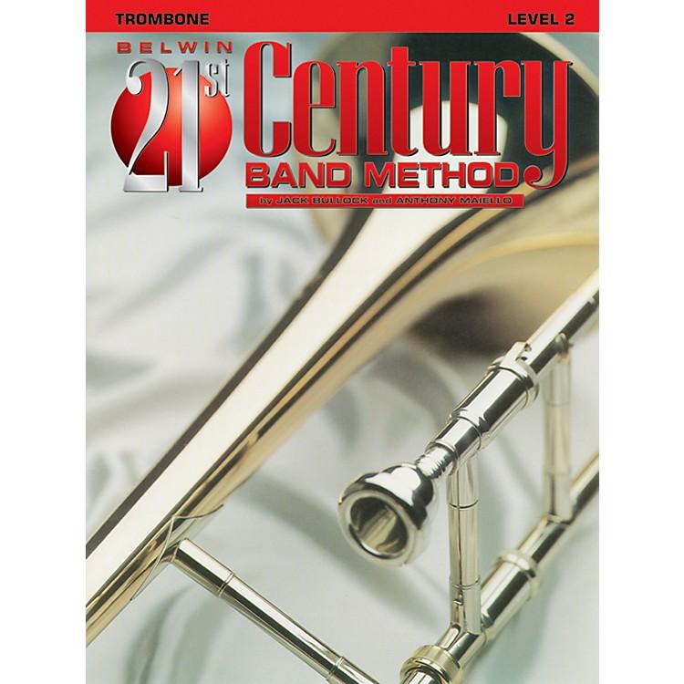 AlfredBelwin 21st Century Band Method Level 2 Trombone Book