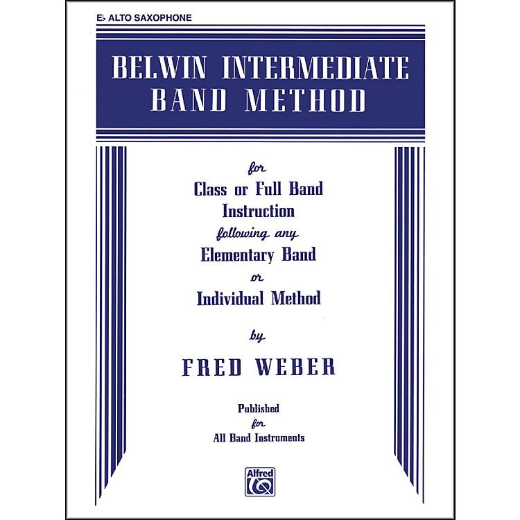 AlfredBelwin Intermediate Band Method E-Flat Alto Saxophone