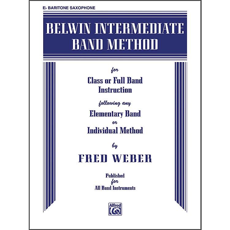 AlfredBelwin Intermediate Band Method E-Flat Baritone Saxophone Book
