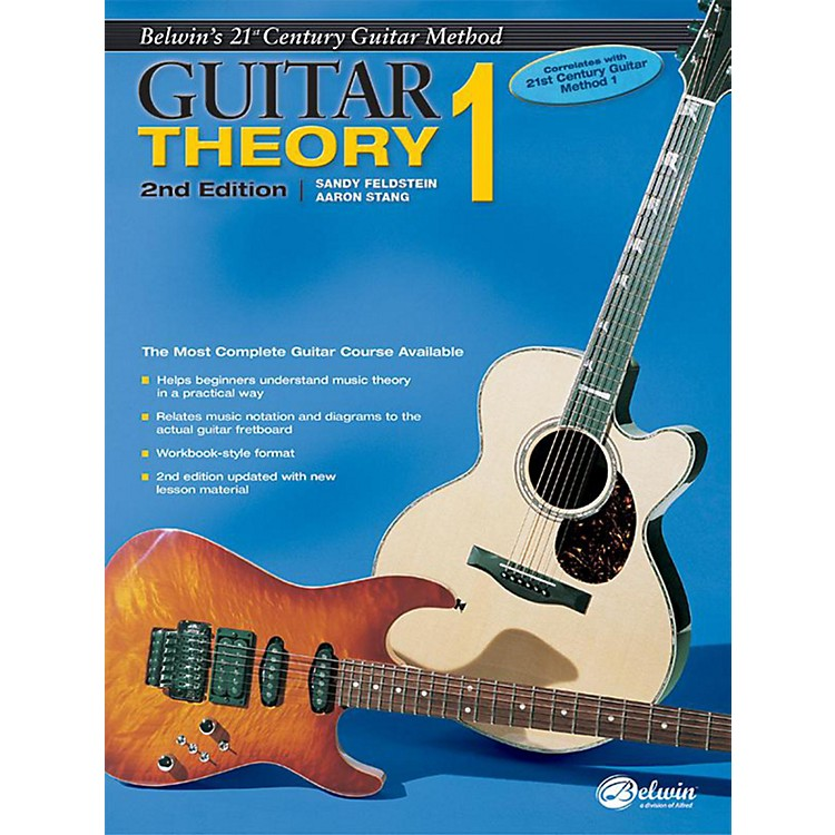 Alfred Belwin's 21st Century Guitar Theory Book 1 (2nd Edition)