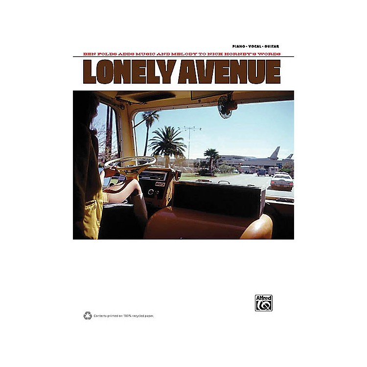 AlfredBen Folds - Lonely Avenue Piano/Vocal/Guitar Artist Songbook Series Softcover Performed by Ben Folds