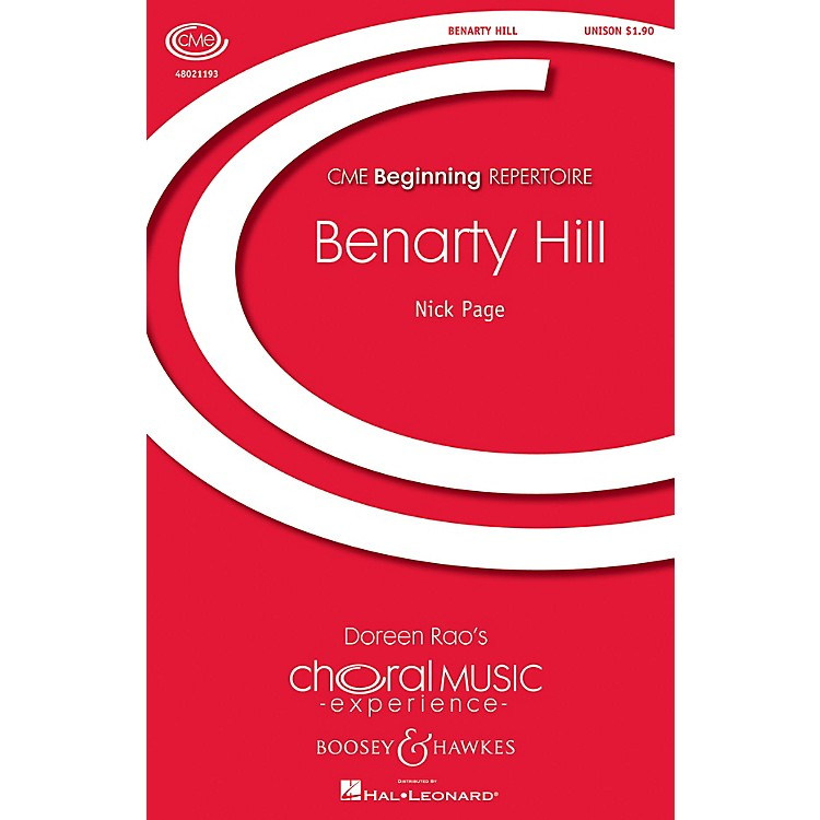 Boosey and HawkesBenarty Hill (CME Beginning) UNIS composed by Nick Page