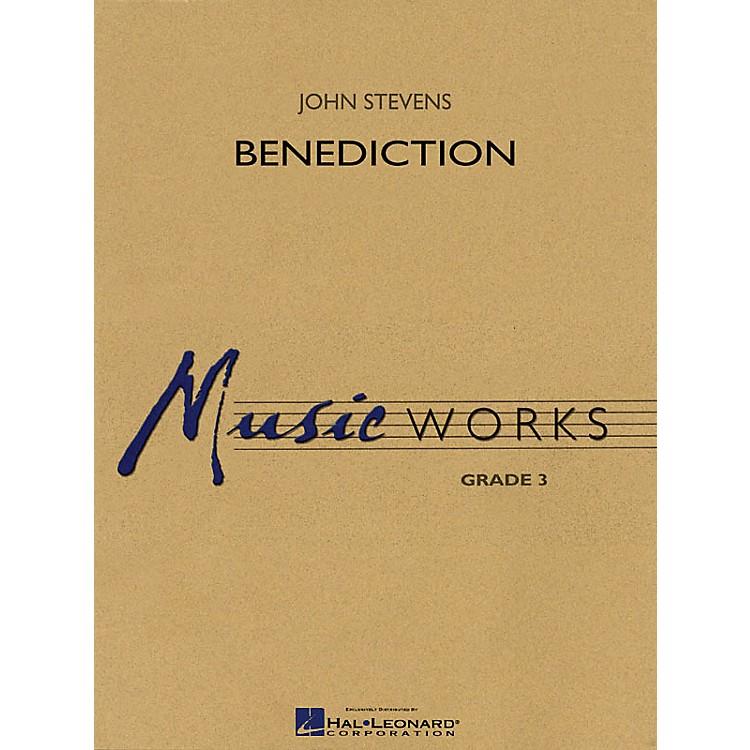 Hal LeonardBenediction Concert Band Level 3 Composed by John Stevens