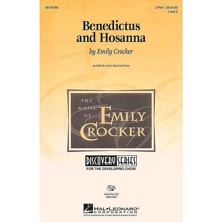 Hal LeonardBenedictus and Hosanna VoiceTrax CD Composed by Emily Crocker