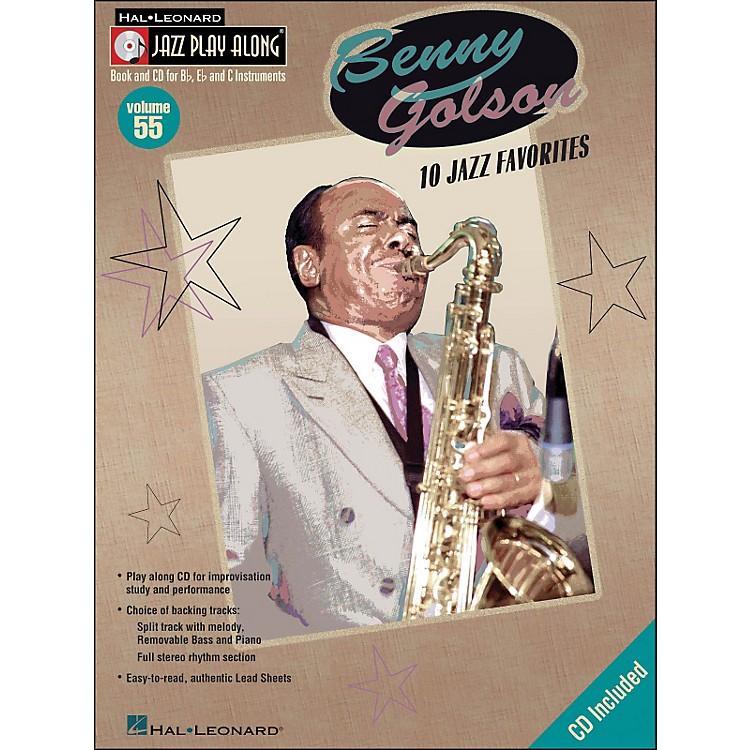 Hal LeonardBenny Golson Volume 55 Book/CD 10 Jazz Favorites Jazz Play Along