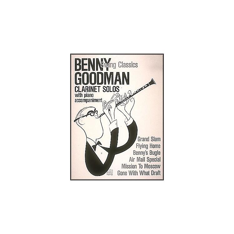 Hal LeonardBenny Goodman Swing Classics Clarinet Solos with Piano Accompaniment