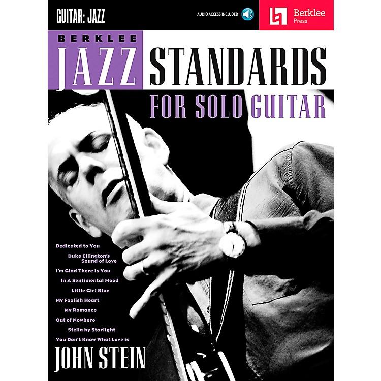 Berklee PressBerklee Jazz Standards For Solo Guitar - Berklee Press Book/CD