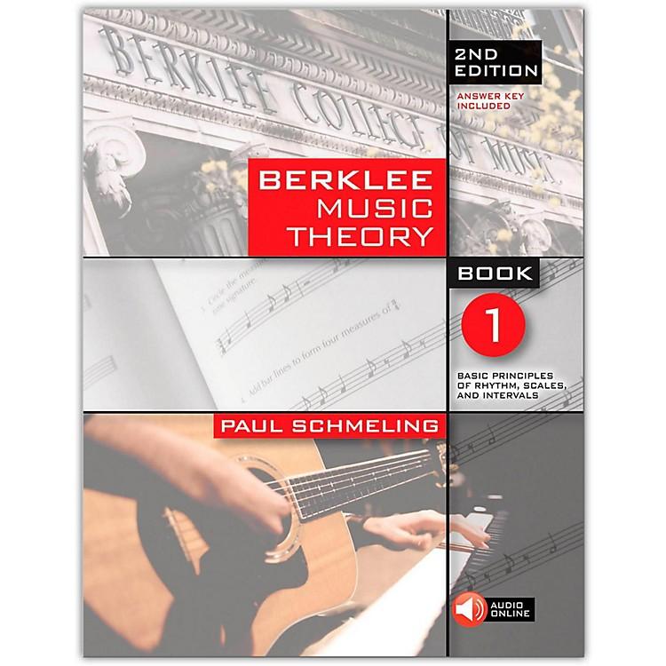 Berklee PressBerklee Music Theory Book 1 (Book/Online Audio) 2nd Edition
