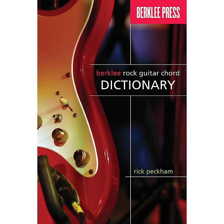 Berklee PressBerklee Rock Guitar Chord Dictionary Berklee Guide Series Softcover Written by Rick Peckham