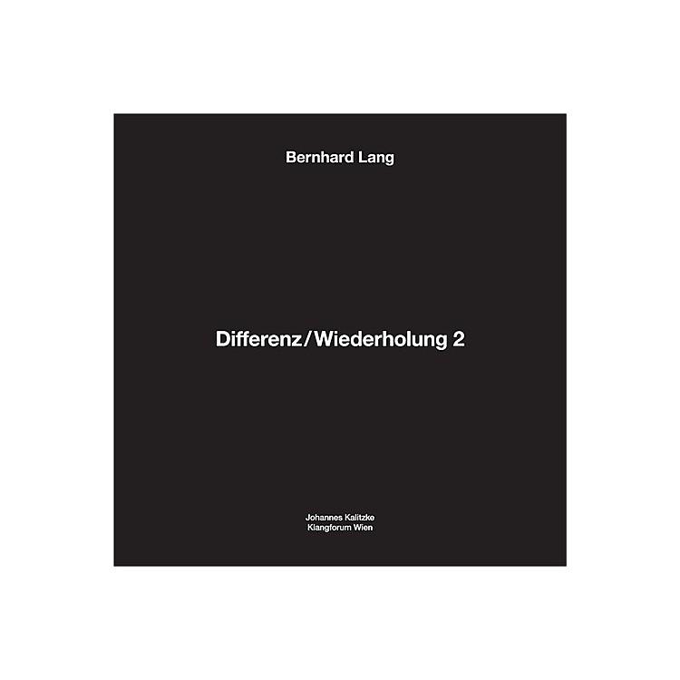 AllianceBernhard Lang - Differenz / Wiederholung 2