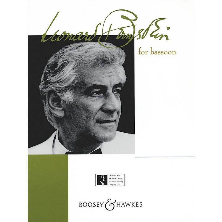 Boosey and HawkesBernstein for Bassoon Boosey & Hawkes Chamber Music Series by Leonard Bernstein