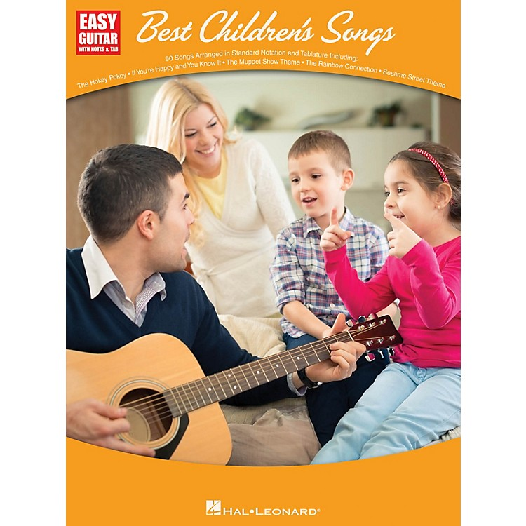 Hal LeonardBest Children's Songs (Easy Guitar with Notes & Tab) Easy Guitar Series Softcover