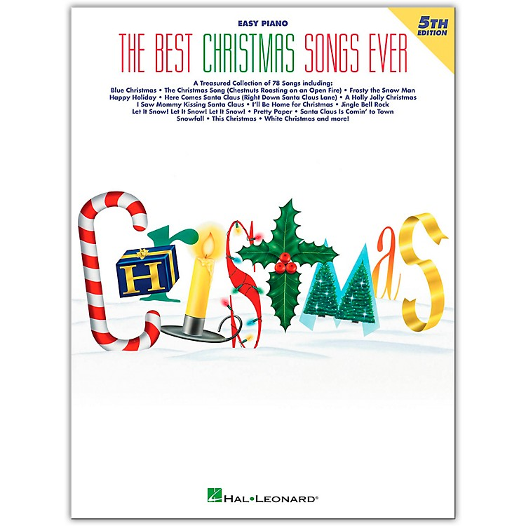 Hal LeonardBest Christmas Songs Ever, 5th Edition For Easy Piano
