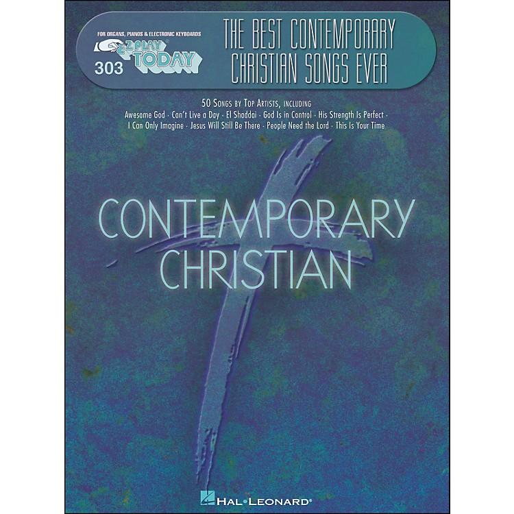 Hal LeonardBest Contemporary Christian Songs Ever E-Z Play 303