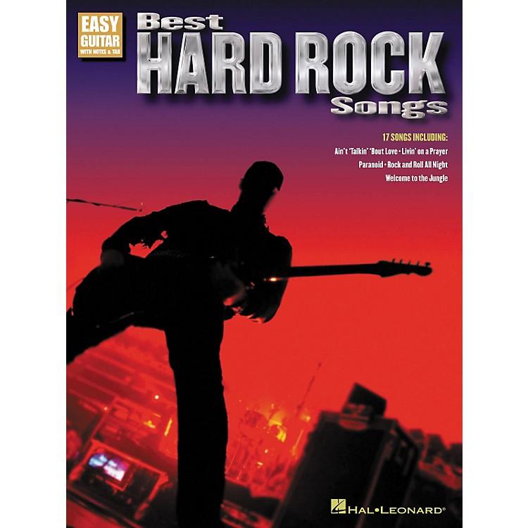 Hal LeonardBest Hard Rock Songs (Easy Guitar with Notes & Tab)