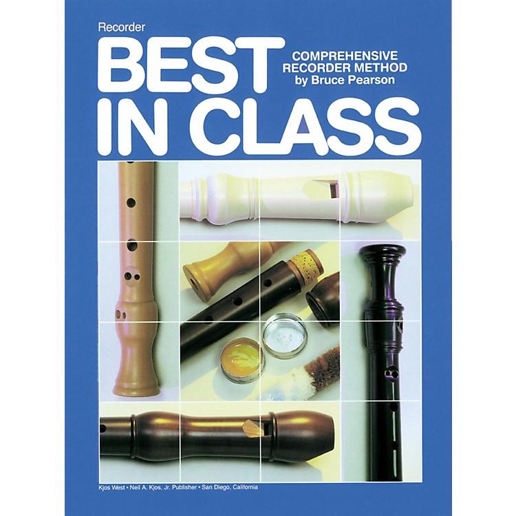 KJOSBest In Class Recorder Method Book