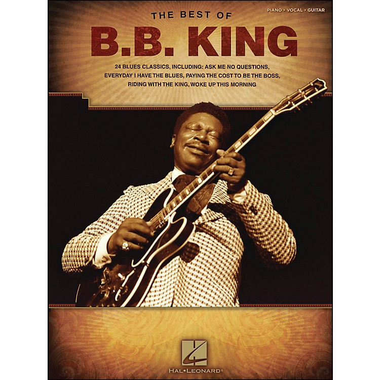 Hal LeonardBest Of B.B. King arranged for piano, vocal, and guitar (P/V/G)