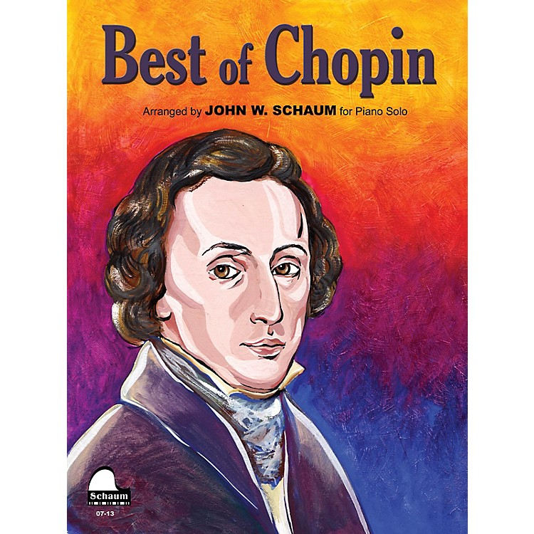 SCHAUM Best Of Chopin Educational Piano Series Softcover